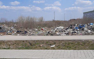 Čišćenje deponije u Staroj Pazovi